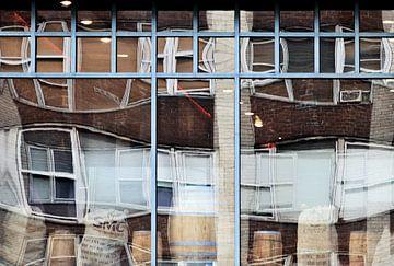 reflectie in raam von Artstudio1622