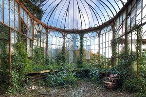 Verlassener Wintergarten