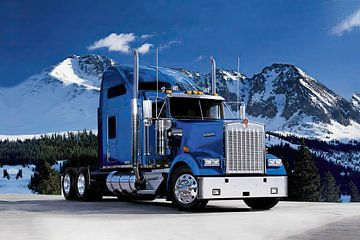 Kenworth, Amerikaanse truck. van Gert Hilbink