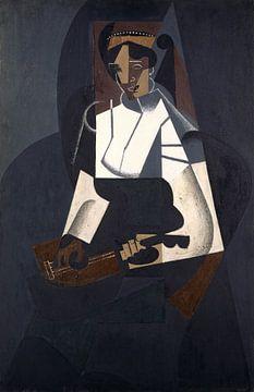 Frau mit Mandoline, Juan Gris