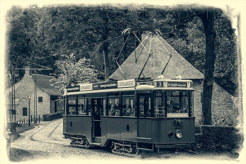 Tram van de RTM van Hans Lebbe