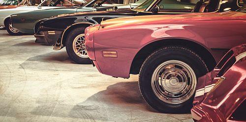 Klassieke Muscle Cars van Martin Bergsma