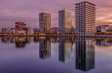 Antwerp Skyline von Tom Opdebeeck