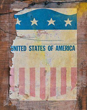 Alte US-Militär-Banner von Martin Bergsma