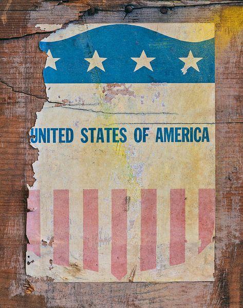 Oud leger pamflet uit Amerika van Martin Bergsma