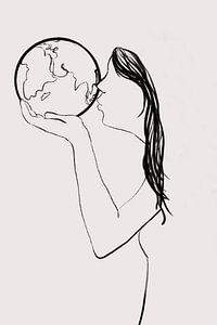 Erde - Ich liebe dich von MishMash van Heukelom