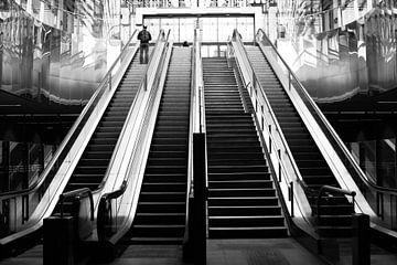 De roltrappen van de ondergrondse wereld von Petra Brouwer