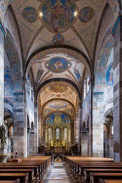 Intérieur d'église sur Ernst van Loon