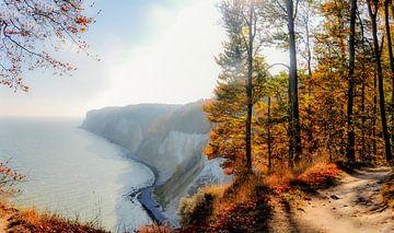 Kreidefelsen - Herbst in der Stubbenkammer von GH Foto & Artdesign