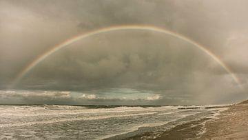 regenboog bij oostkapelle zeeland van