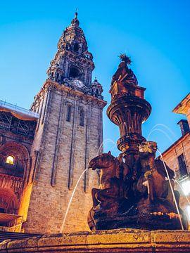 Santiago de Compostela - Fonte dos Cabalos van Alexander Voss