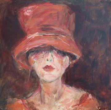 Chapeau rouge van Mieke Daenen