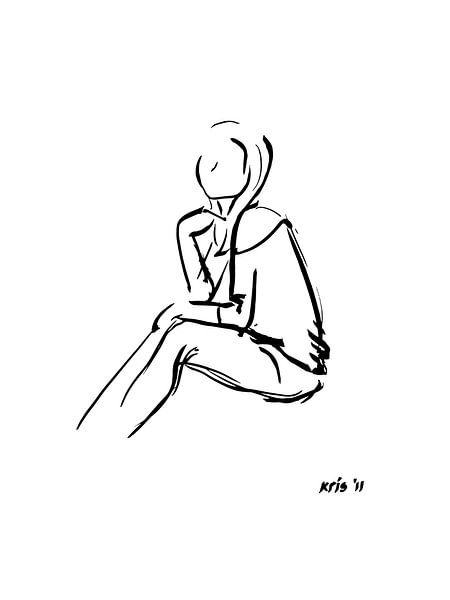 Inkt tekening