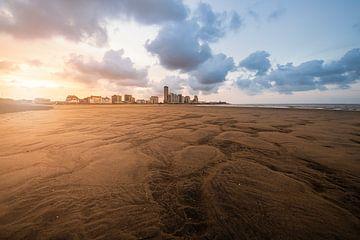 Structuren in het zand van Huijgens Fotografie