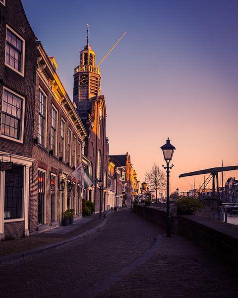 Église du pèlerin Rotterdam Delfshaven sur Paul Poot