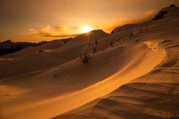 Sonnenuntergang Dobratsch - Kärnten - Österreich von Felina Photography