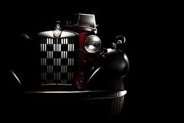 MG TD Roadster 1950 klassieke sportauto van Thomas Boudewijn