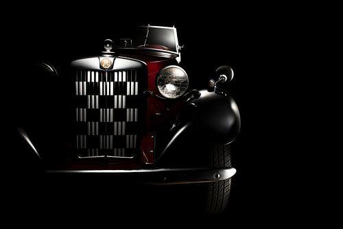 MG TD Roadster 1950 klassieke sportauto