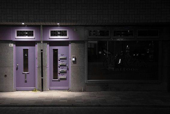 Kleurige voordeur