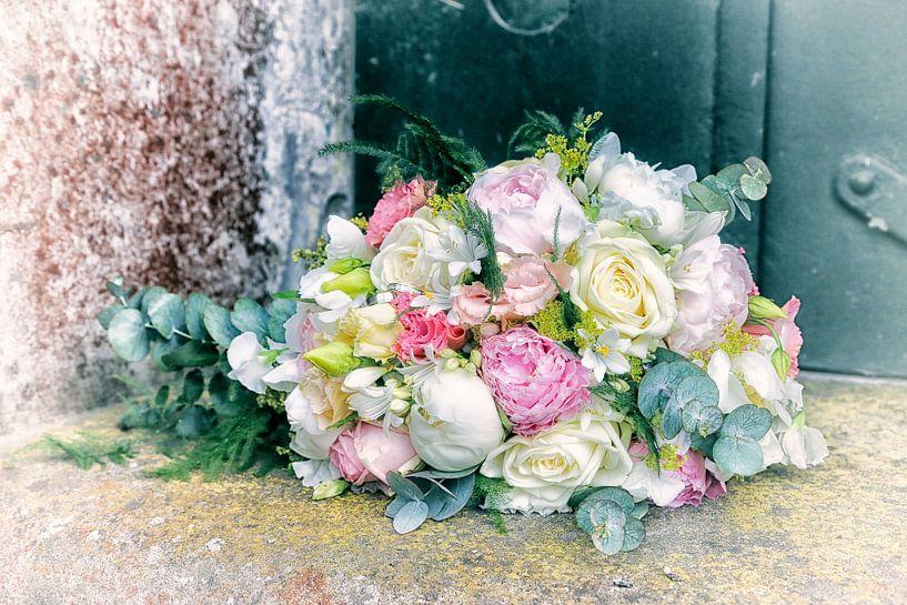 Bossie trouwbloemen van Marianne Bras