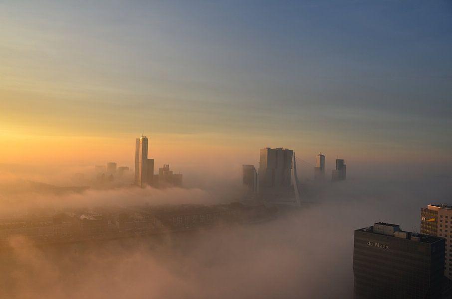 Rotterdam romantisch  van Marcel van Duinen