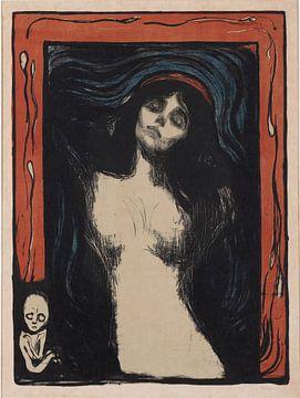 Madonna, Edvard Munch