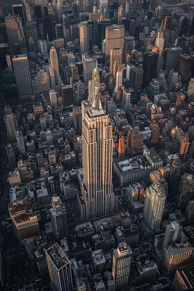 Empire State building New York City van Thomas Bartelds