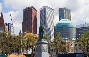 Plein in Den Haag van Jan Kranendonk