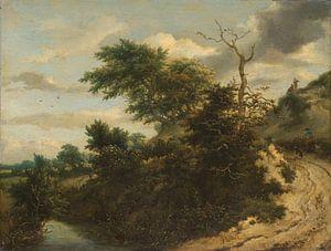 Zandweg in de duinen, Jacob Isaacksz. van Ruisdael