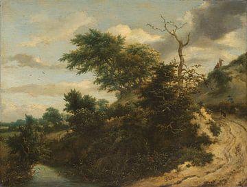 Zandweg in de duinen, Jacob Isaacksz. van Ruisdael von Meesterlijcke Meesters