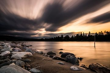 Altaelva strand von Peter Postmus