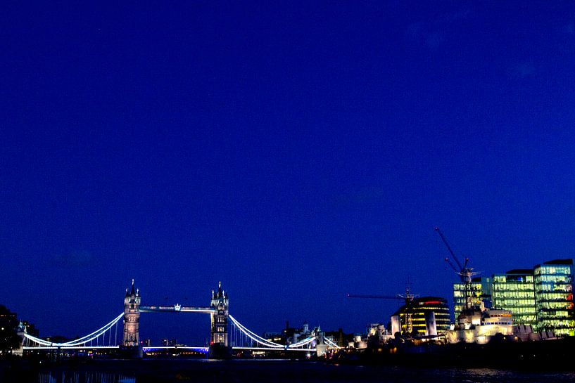 London by Night van Paul Teixeira