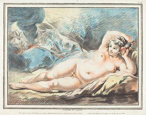 Danaë als weiblicher Akt, Louis-Marin Bonnet, 1774
