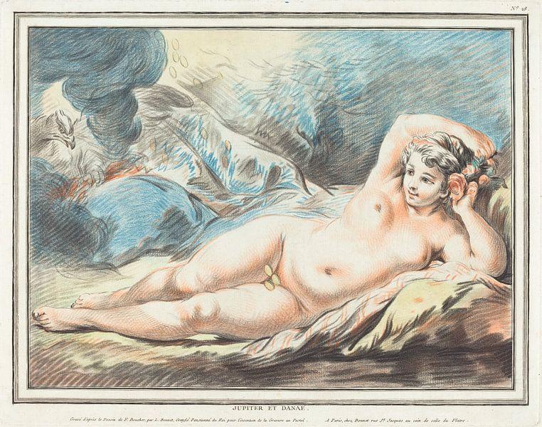 Danaë als weiblicher Akt, Louis-Marin Bonnet, 1774 von Atelier Liesjes