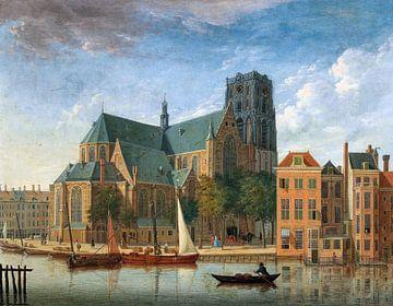 Rotterdam, Sint Laurenskerk, Jan ten Compe - 1730 von Atelier Liesjes