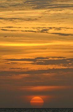 Caribische Zonsondergang van