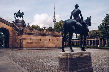 Berlin Museum Island – Colonnade Courtyard / Alte Nationalgalerie sur Alexander Voss