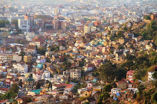 Wonen in Antananarivo van Dennis van de Water