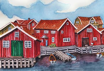 Skaftö Island van Thomas Suske