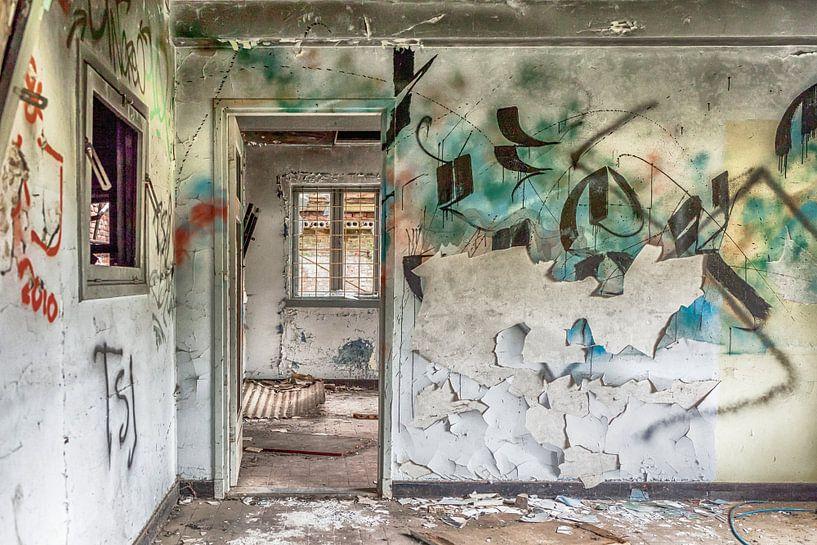 Verlassenes Haus in Belgien von Elly Damen