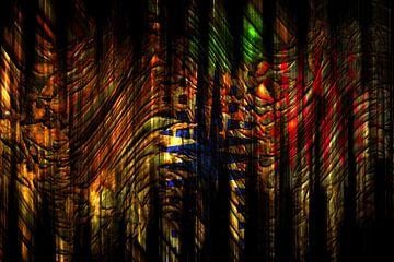 Abstrakt : Der Weg zum Eingang von Michael Nägele