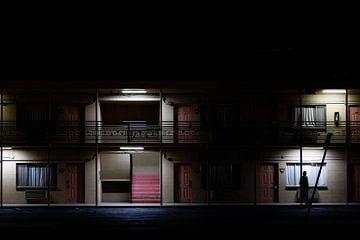 Motel la nuit sur Moniek Kuipers