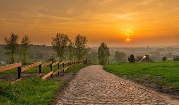 zonsondergang boven de patersberg von Nicola Mathu