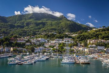 Hafen von Casamicciola Terme, Ischia von Christian Müringer