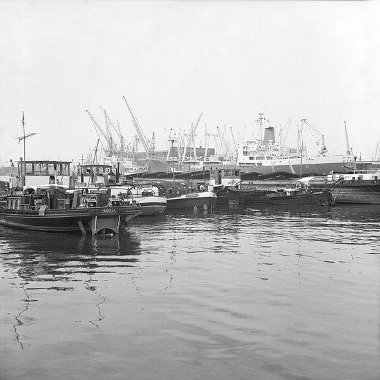 De Waalhaven Rotterdam juni 1967 van Rob van der Teen