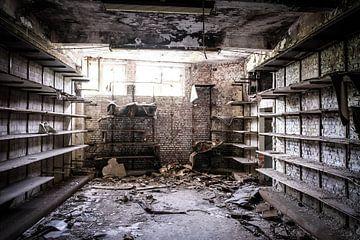In een oude sokkenfabriek van Niki Moens