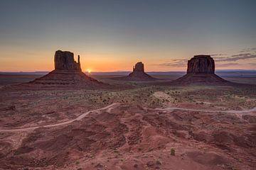 Monument Valley, Colorado, Vereinigte Staaten von Afke van den Hazel
