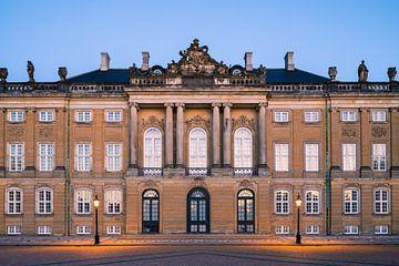 Amalienborg, Copenhague, Danemark. sur Henk Meijer Photography
