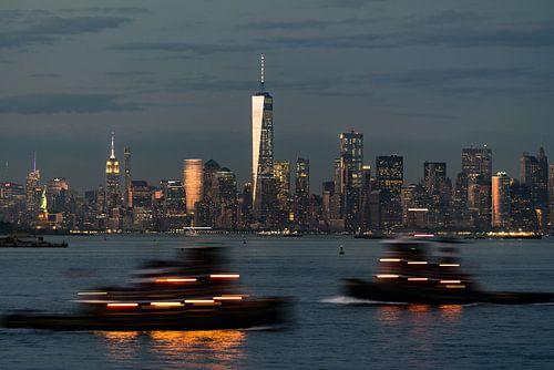 New York  mit dem Hudson River