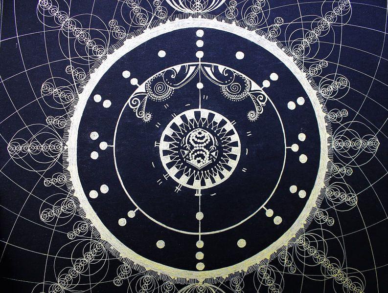 """""""Ode to 34"""" a Geometric representation of the number 34  van E11en  den Hollander"""